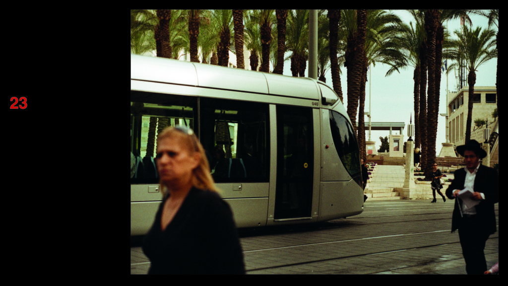 Light Rail in Jerusalem